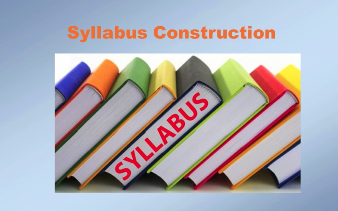 Syllabus Construction