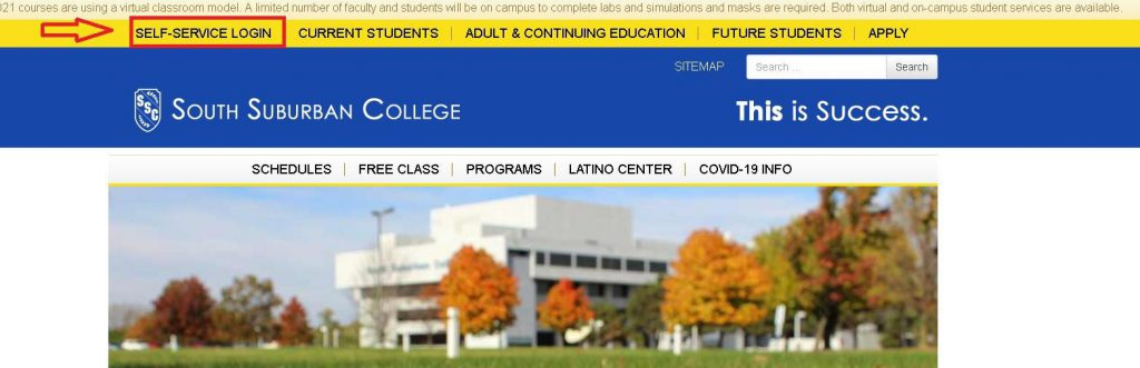 College Home Page