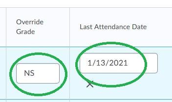 Last Attendance Date
